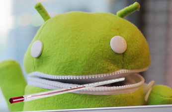 Android enfermo.