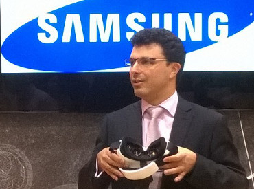 David Alonso y el Samsung Gear VR