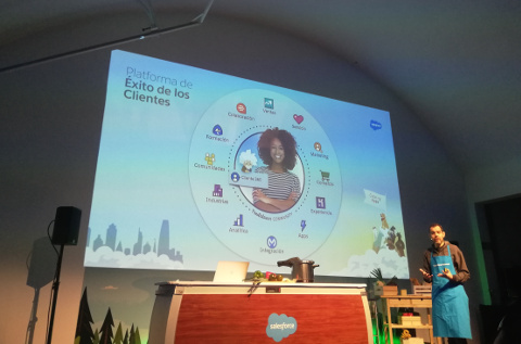 Evento Salesforce for IT Summit de Madrid.